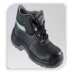 INKUNZI BOOTS. Style 6501 – Black with Reflective Strip