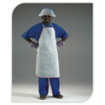 CHROME LEATHER APRONS RIBBED ENDS (60 X 90)