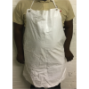 PVC APRONS  - WHITE - 70 X 110 CM BLOOD & FAT
