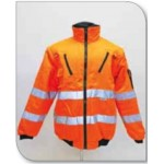 REFLECTIVE BUNNY JACKETS - (FLEECE) - ORANGE